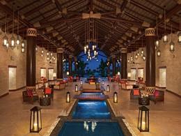 Le lobby de l'hôtel Secrets Cap Cana Resort & Spa