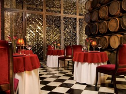 Le restaurant Bordeaux de l'hôtel Secrets Maroma