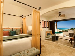 Preferred Club Junior Suite Ocean View du Secrets Maroma