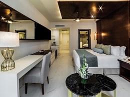 La décoration des chambres, raffinée et élégante