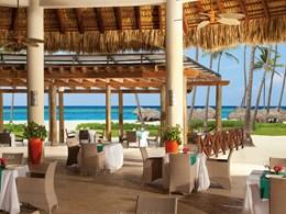 Le Restaurant Olio, au bord de plage