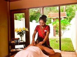Le spa de l'hôtel 5 étoiles Settha Palace au Laos