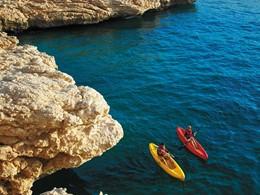 Kayak au Shangri-La Al Bandar situé à Oman