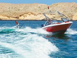 Activité nautique de l'hôtel Shangri-La Al Bandar