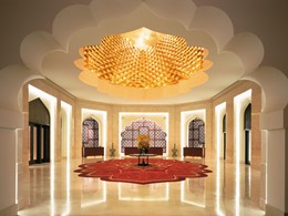 Lobby de l'hôtel Shangri-La Al Bandar à Mascate