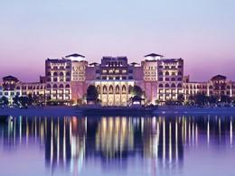 Vue de l'hôtel Shangri-La Qaryat Al Beri à Abu Dhabi