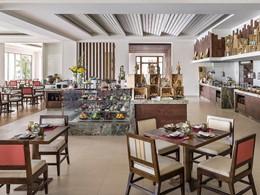 Restaurant Bojunhala du Shangri-La situé au Sri Lanka