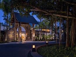 L'entrée du Shangri-La's Le Touessrok