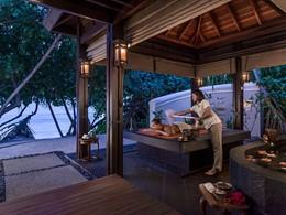 Hammam exterieur du Shangri-la's Villingili Resort