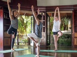 Yoga pour enfants à l'hôtel Shangri-la's Villingili
