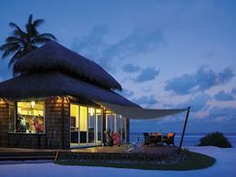 Golf Club House de l'hôtel Shangri-La's Villingili