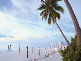 Mariage au Shangri-La's Villingili dans l'atoll Addu