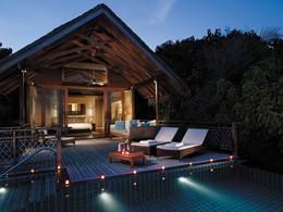 Pool Villa du Shangri-La's Villingili aux Maldives
