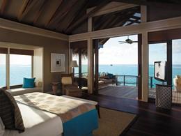 Water Villa du Shangri-La's Villingili aux Maldives