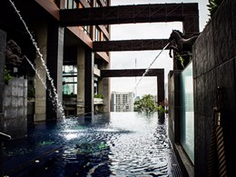 La superbe piscine du Siam@Siam Design Hotel & Spa
