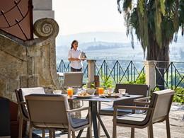 Petit déjeuner de l'hôtel Six Senses Douro Valley