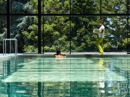 La piscine interne du Six Senses Douro Valley