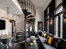 La Duxton Duplex Suite, noble avec son salon double niveau