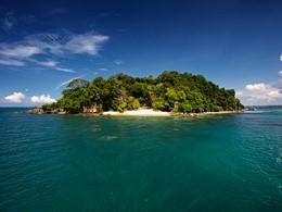 Le Six Senses est situé sur la belle île de Krabey