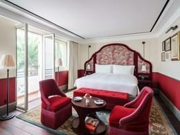 The Terrace, une chambre qui dispose de son balcon privé