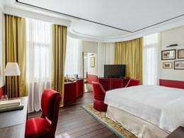 La Maxwell Suite, située dans au niveau supérieur de l'hôtel