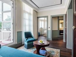 Spacieuse, la Maxwell Suite est un condensé de luxe et de raffinement