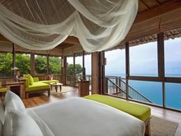 Ocean Front Pool Villa Suite de l'hôtel Six Senses