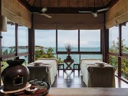 Le spa de l'hôtel 5 étoiles Six Senses situé en Thailande