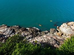 Activités nautiques au Six Senses Samui en Thailande