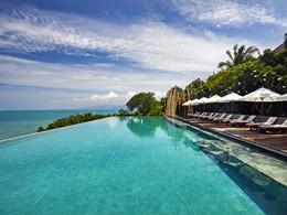 La piscine du Six Senses Samui situé en Thailande