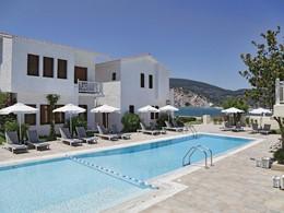 La piscine du Skopelos Village