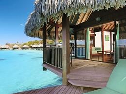 Luxury Overwater Bungalow du Sofitel Bora Bora