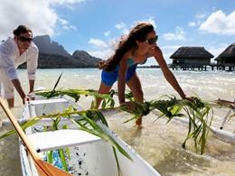 Profitez des eaux cristallines de l'hôtel Sofitel Bora Bora