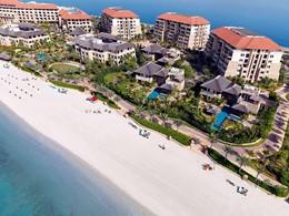 Vue aérienne du Sofitel Palm Resort à Dubaï