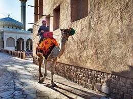 Balade à dos de chameau à Palm Jumeirah