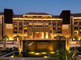 Vue de l'hôtel Sofitel Palm Resort à Dubaï