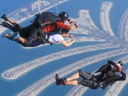 Saut en parachute au Sofitel Dubaï Palm Resort