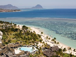 Vue aérienne du Sofitel Mauritius L'Impérial Resort