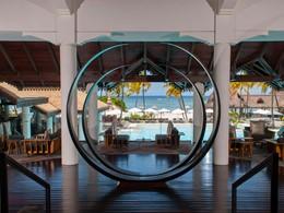 Le lobby du Sofitel Mauritius L'Impérial à Flic en Flac
