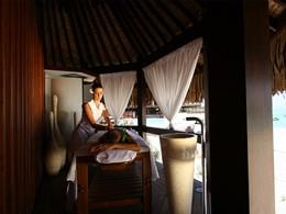 Le spa de l'hôtel Sofitel situé à Moorea