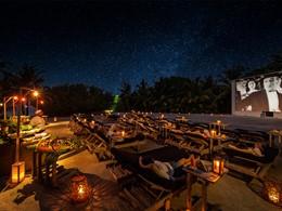 Le Cinéma Paradiso sous les étoiles au Soneva Fushi