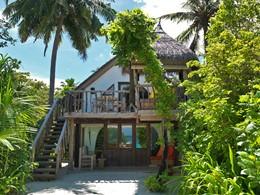 Crusoe Villa du Soneva Fushi aux Maldives