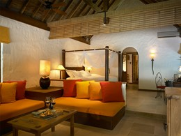 Deluxe Soneva Fushi Villa Suite aux Maldives