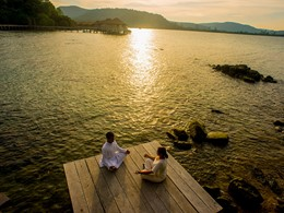 Méditation à l'hôtel Song Saa Private Island au Cambodge