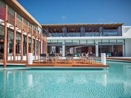 Le restaurant du Stella Island Resort en Crète