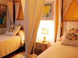 La Classic Room de l'hôtel, décoré dans l'esprit de l'île