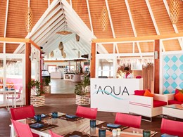 Saveurs internationales au restaurant The Aqua