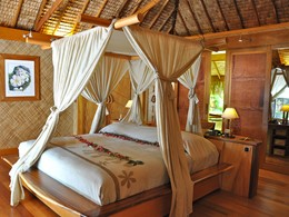 Villa Plage Royale de l'hôtel Tahaa en Polynésie
