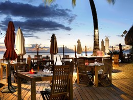 Le restaurant Le Carré du Tahiti Ia Ora Beach Resort