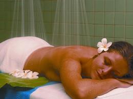 Le spa de l'hôtel 4 étoiles Tahiti Pearl Beach Resort situé en Polynésie